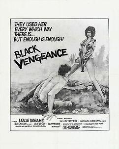 Black Vengeance - Movie Poster