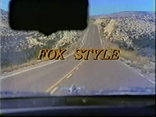 Fox Style - Title Shot