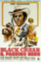 Black Caesar (Italy) Movie Poster