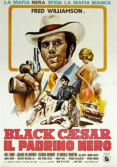 Black Caesar (Italy) Movie Poster