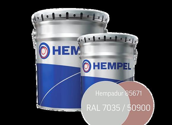 Hempadur 85671 краска эпоксидная 20,0 л (А+В=17,6+2,4) (34 кг)