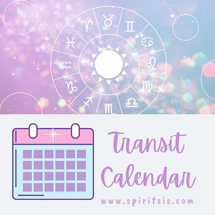 April Transit Calendar
