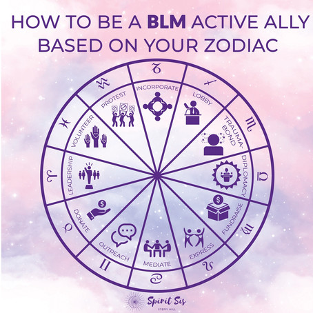 How to be a BLM Active Ally based on your zodiac sign