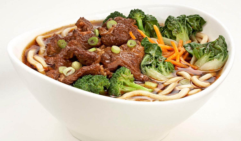 Custom Big Bowl Noodle Soup