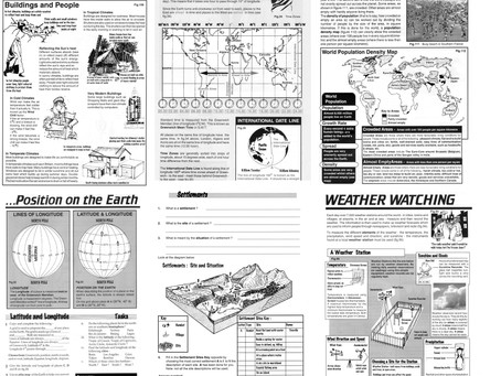 FREE Downloadable resources for secondary school geography