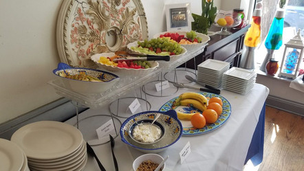 During Sunday's Brunch Experience Excellence at Papaspiros Authentic Greek Cuisine! Opa!