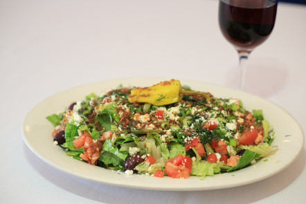 All Different Kinds of Salads are Available at Papaspiros!