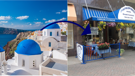 Our Food Would Excellent if Served in the Greek Island!
