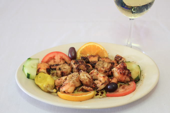 This weekend, dine in at Papaspiros on Lake Street, where you are family! Opa!