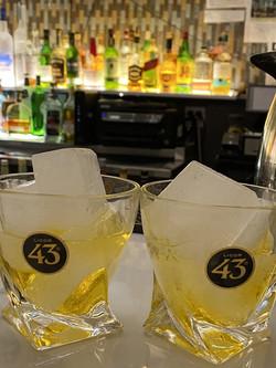 Papaspiros Drinks at Bar