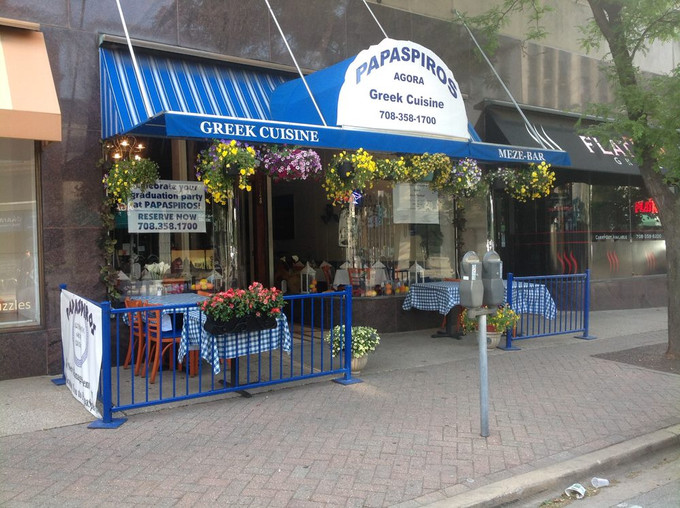 Enjoy the Outdoor Experience With Our Excellent Outdoor Seating at Papaspiros!
