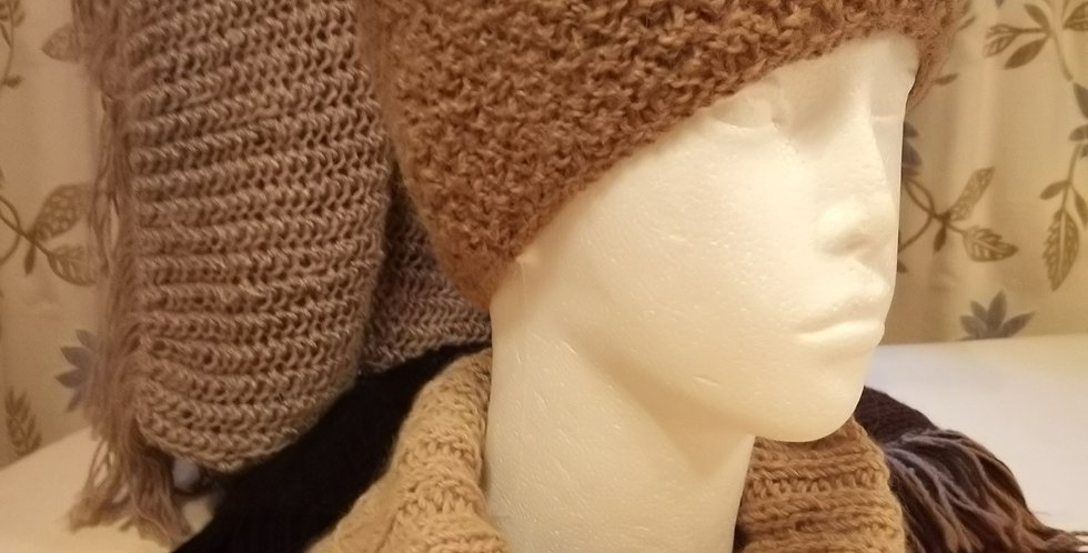 Slouch Hat and Cowl