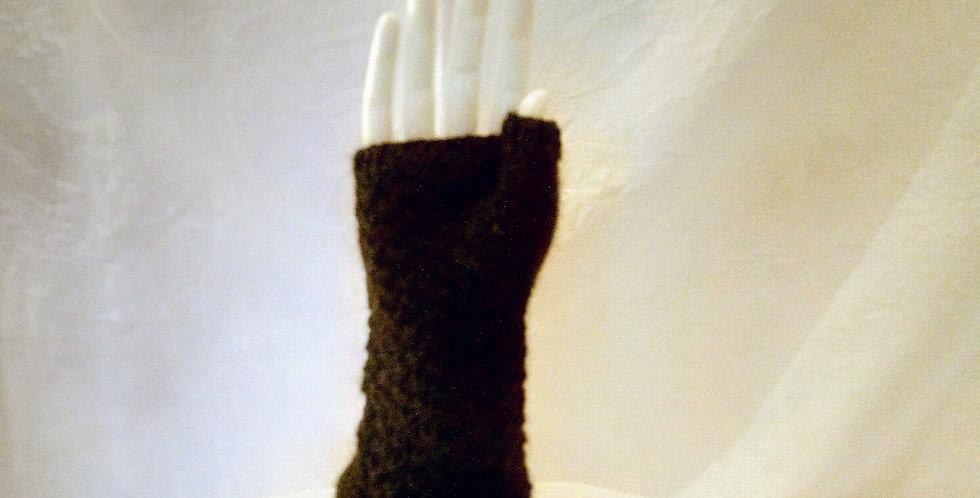 Long Fingerless Mittens