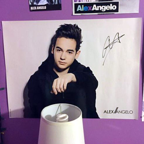 Autographed Poster (white)