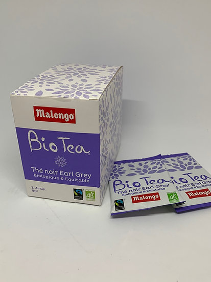 Malongo Organic & Fair-trade Tea - Earl Grey