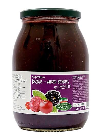 Sottobosco Paoli Mixed Berries Jam