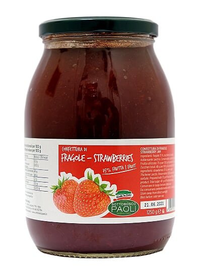 Sottobosco Paoli Strawberry Jam