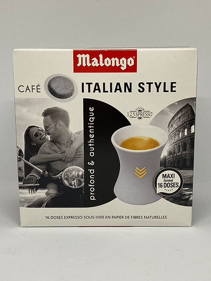 Italian Malongo Coffee Pods