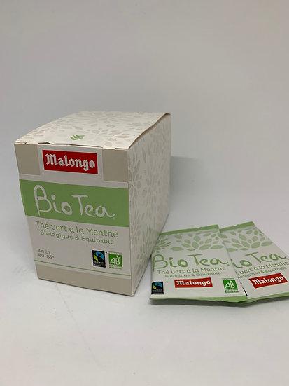 Malongo Organic & Fair-trade Tea - Green Mint Tea