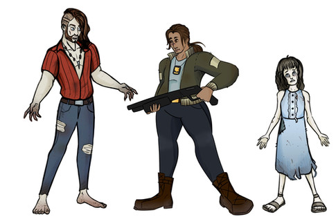 Follow Me - Character Line Up