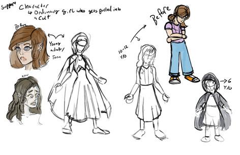 Zara - Sketches