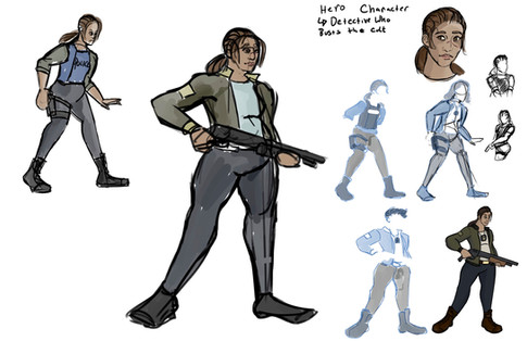 Rosa Lockheart - Sketches