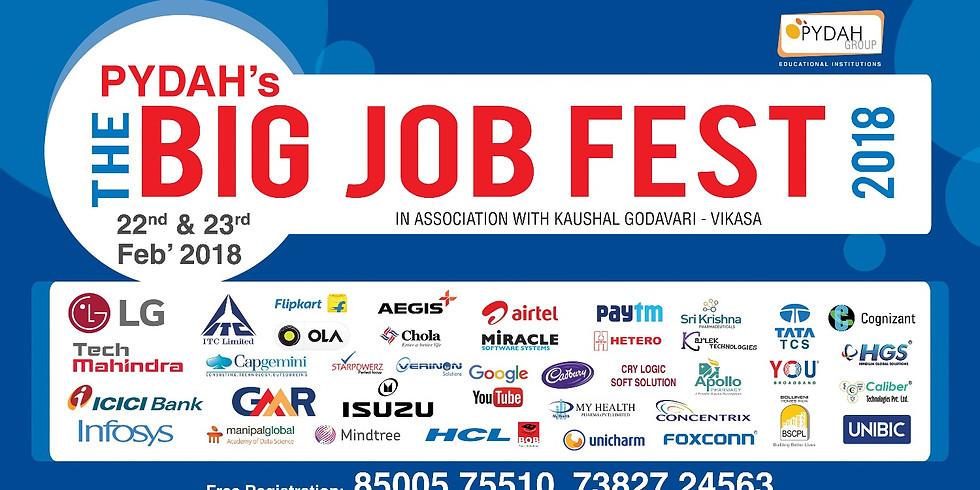The Big Job Fest 2018