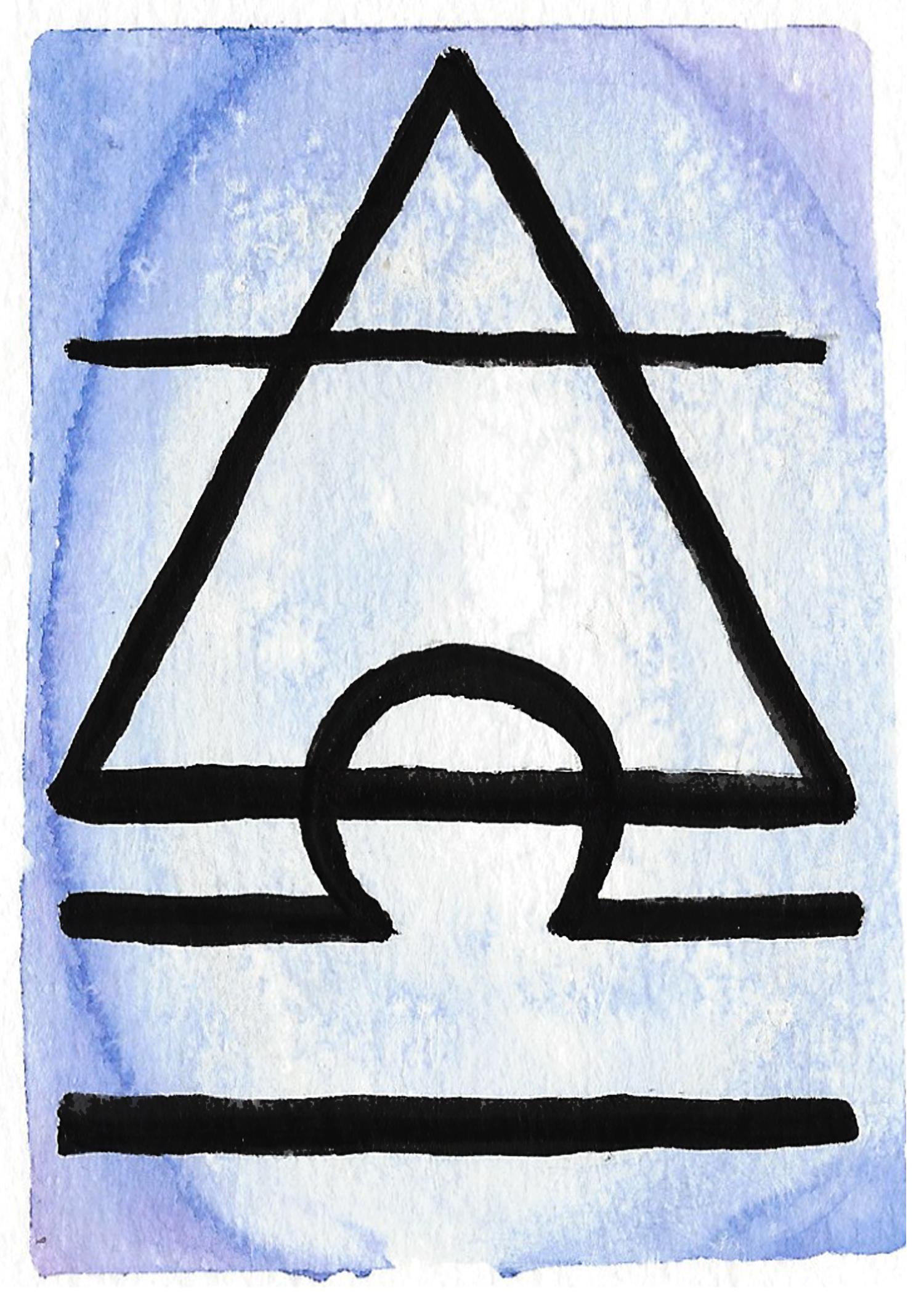 libra element symbol 5x7