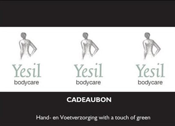 Cadeaubon Yesil Bodycare