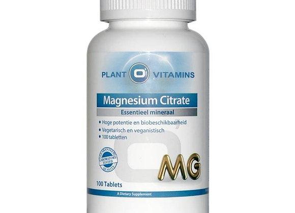 MAGNESIUM CITRATE Plantovitamins