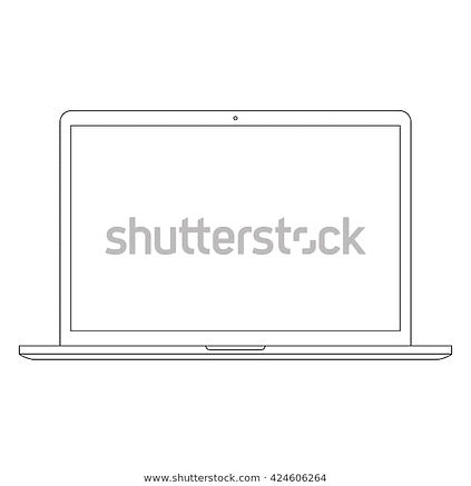 laptop-outline-icon-macbook-style-600w-4