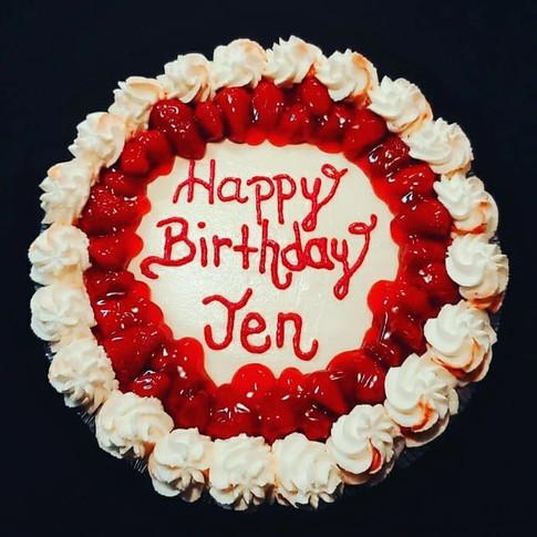 Strawberry Delight-Birthday Cheesecake