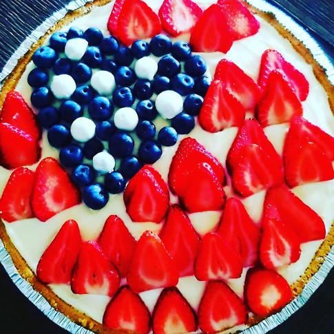 Fresh Fruit American Dream Cheesecake