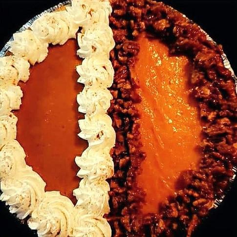 Pumpkin/Sweet Potato Cheesecake