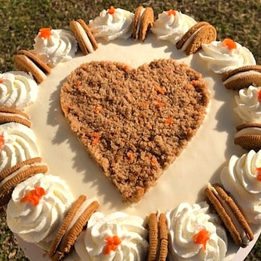 XL- Carrot Cake Oreo Cheesecake