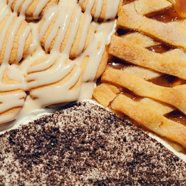 Banana Pudding/Peach Cobbler/Oreo