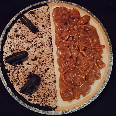 Oreo/Pecan Cheesecake