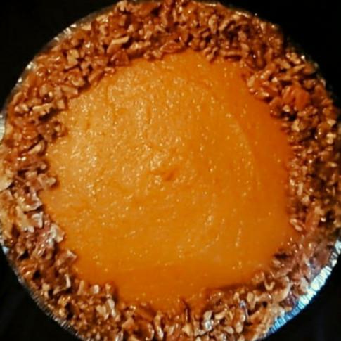 Sweet Potato Pie Cheesecake