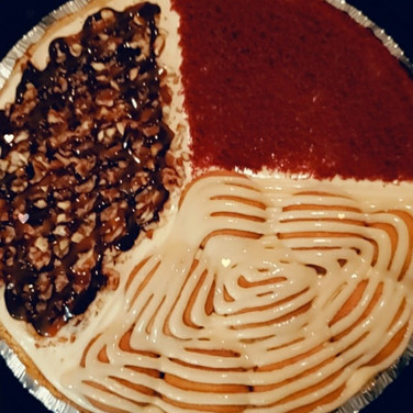 Turtle Brownie/Red Velvet/Banana Pudding