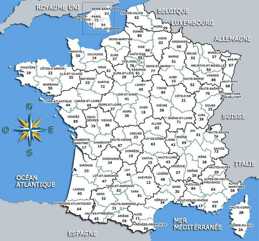 la-carte-departement-de-france-tonaartse