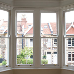 Replacement double glazed sash windows, Bath