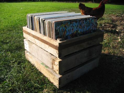 DJ's record box storage, Midsomer Norton