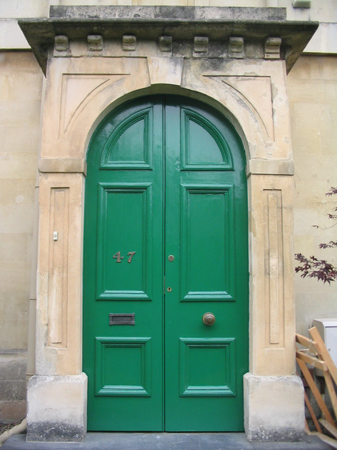 Georgian door restoration, Bath