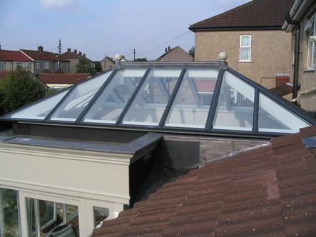 Orangery rooflight, Bristol