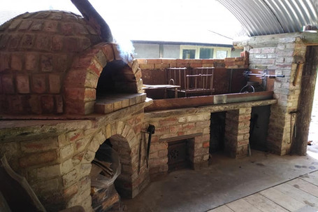 Pizza oven made entirely from reclaimed materials - Welton, Midsomer Norton BA3