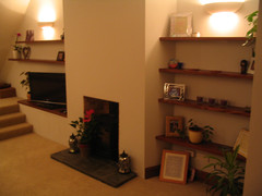Alcove shelving in Whitchurch, Bristol