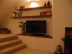 Media cabinet & shelves in Whitchurch, Bristol