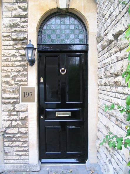 Georgian front door restoration, Bath