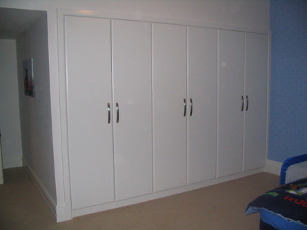 Modern fitted wardrobes, Frome
