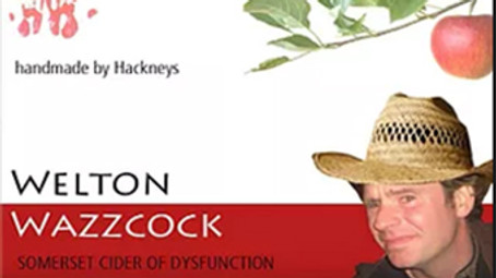 Our own spoof cider brand and advert, Midsomer Norton